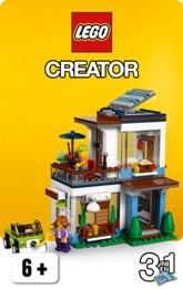 LEGO Creator je základní obecný typ LEGO stavebnic