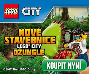 Nová kolekce stavebnic LEGO CITY Jungle