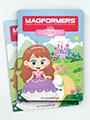 Návod k magnetické stavebnici Magformers Princess set