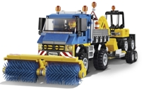 LEGO City 60152 - Zametací vůz a bagr