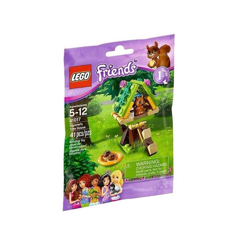 LEGO FRIENDS - Domek na stromě pro veverku 41017