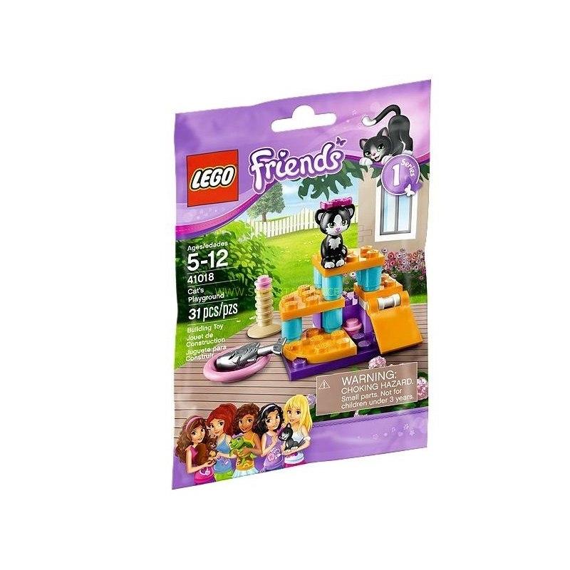 LEGO FRIENDS - Hřiště pro kočky 41018