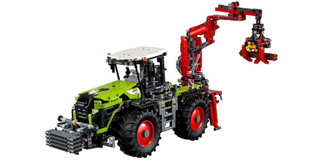 lego technic 42054 traktor claas xerion 5000 trac vc. Black Bedroom Furniture Sets. Home Design Ideas