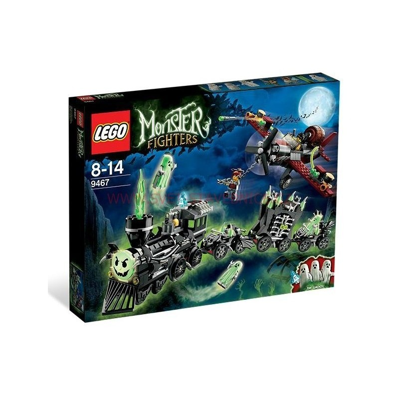 LEGO MONSTER FIGHTERS - Vlak duchů 9467