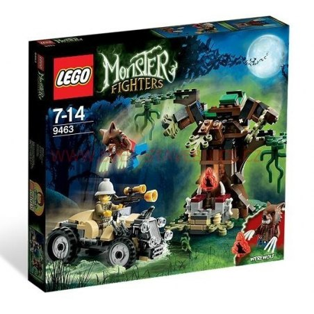 LEGO MONSTER FIGHTERS - Vlkodlak 9463