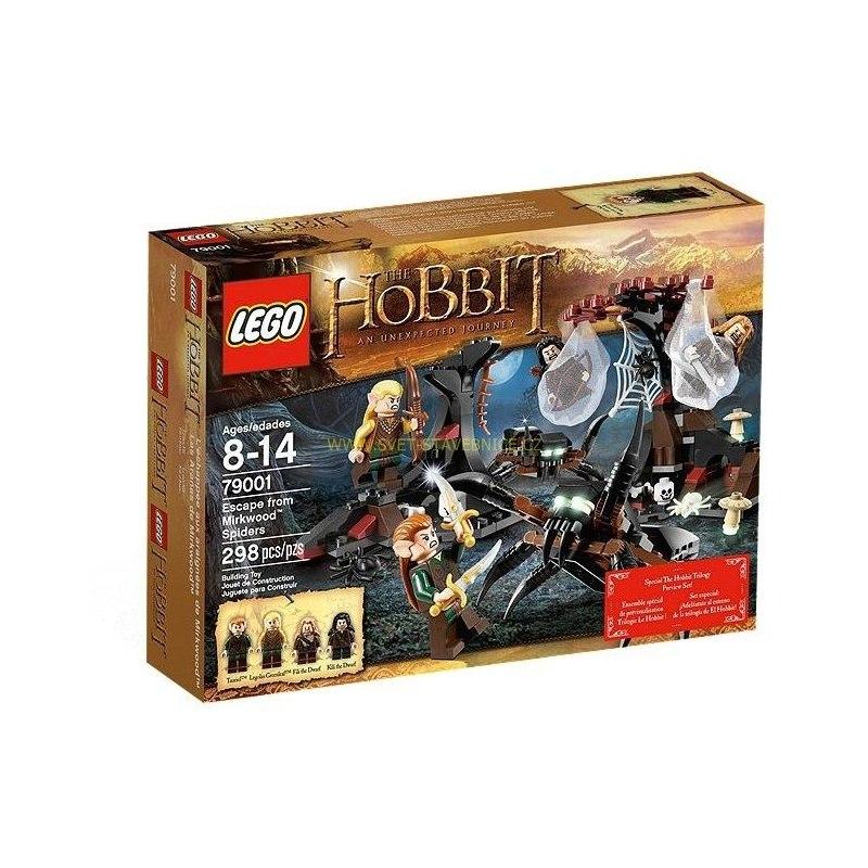 LEGO HOBBIT - Únik před pavouky z Mirkwoodu 79001
