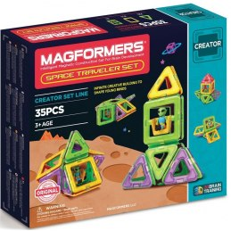 Magformers Space Traveler 35 dílků