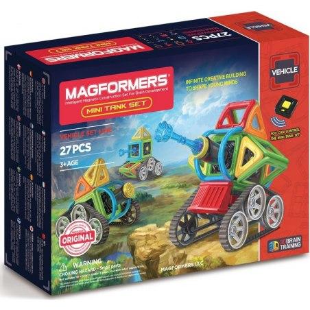 Magformers Mini Tank 27 dílků