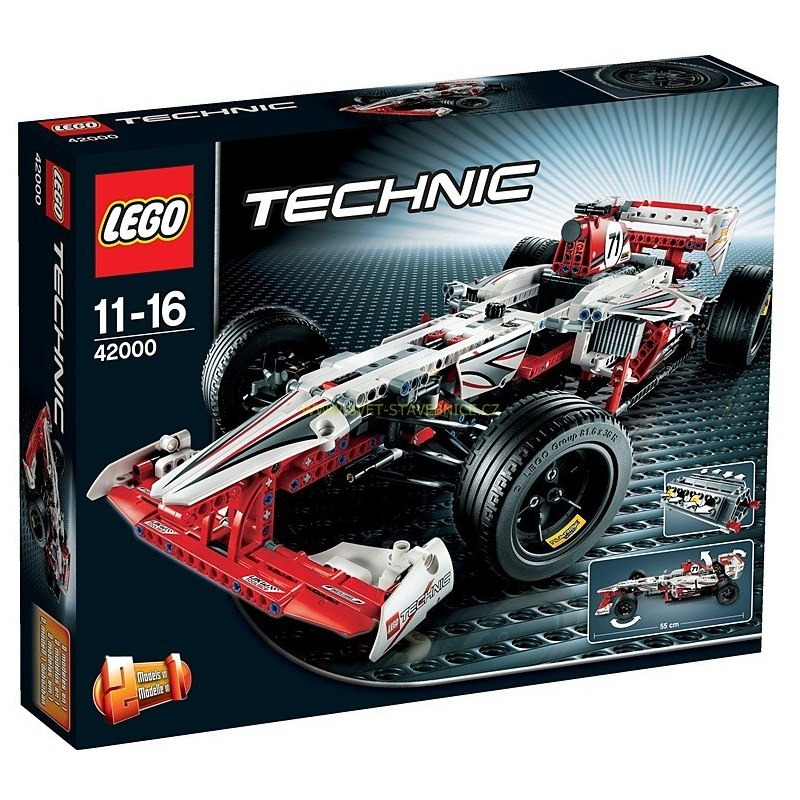 LEGO TECHNIC - Závoďák Grand Prix 42000