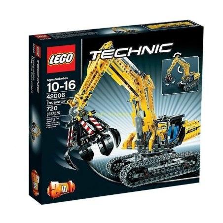 LEGO TECHNIC - Bagr 42006