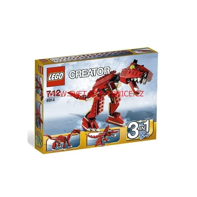 LEGO CREATOR - Pravěký dravec 6914