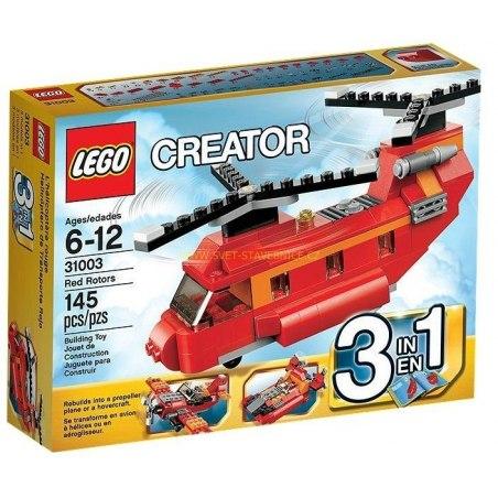 LEGO CREATOR - Červený vrtulník 31003