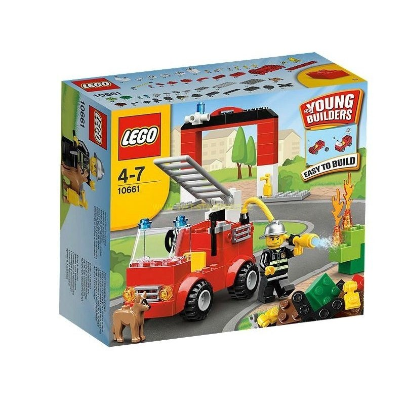 LEGO Creator - Hasičská stanice 10661