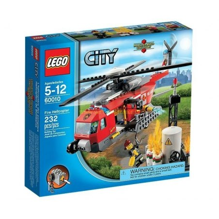 LEGO CITY - Hasičská helikoptéra 60010