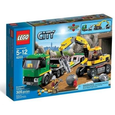 LEGO CITY - Přeprava rypadla 4203