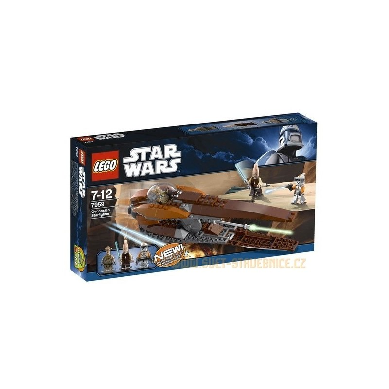LEGO STAR WARS - Geonosian Starfighter TM 7959