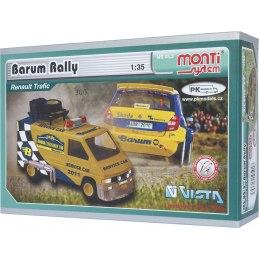 Monti System MS 05.3 - Renault Barum rally Service car 1:35
