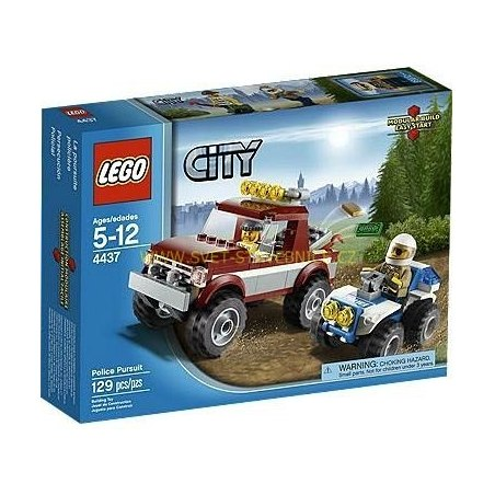 LEGO CITY - Policejní honička 4437
