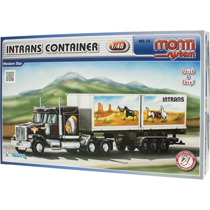 Monti System MS 25 - Intrans Container 1:48