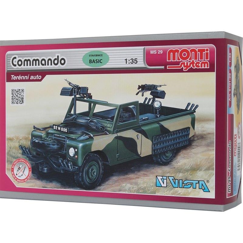 Monti System MS 29 - Commando Land Rover 1:35