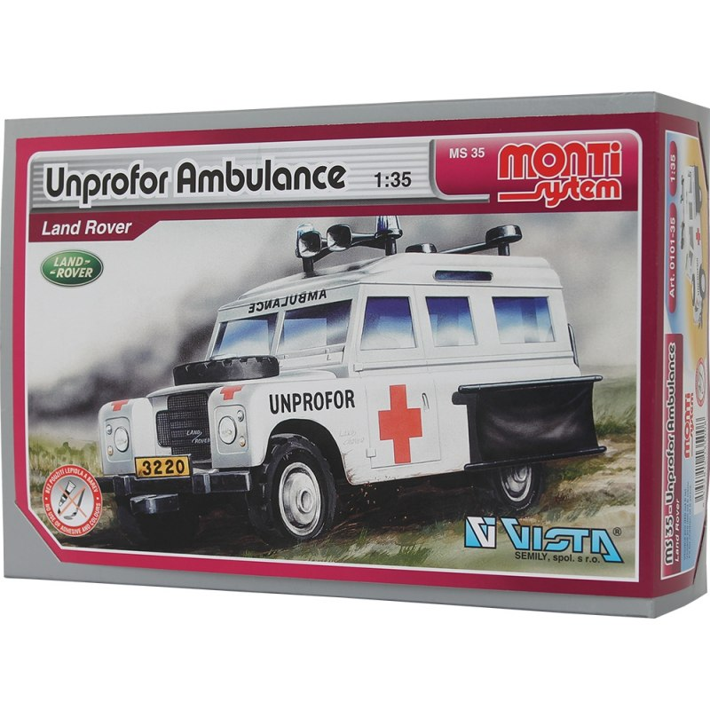 Monti System MS 35 - Unprofor Ambulance 1:35
