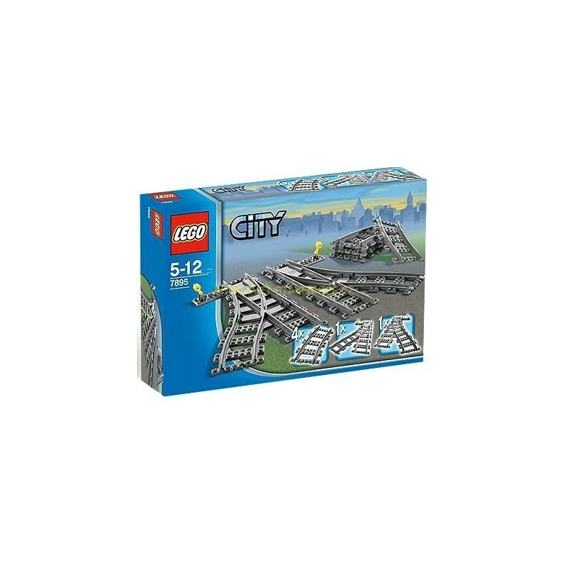 LEGO CITY - Výhybky 7895