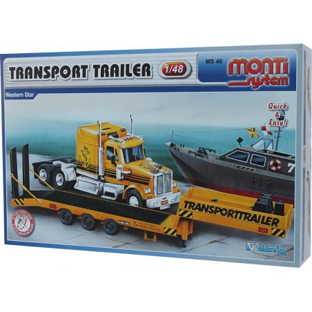 Monti System MS 46 - Transport Trailer 1:48