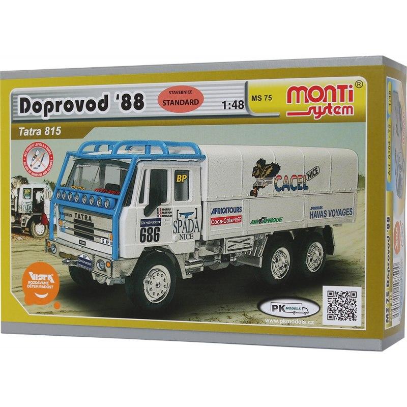 Monti System MS 75 - Tatra 815 Dakar doprovod 1988 1:48