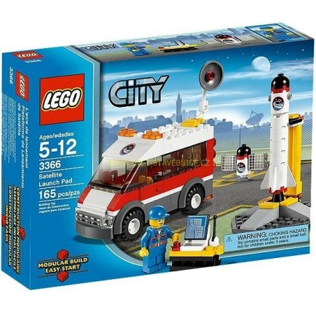 LEGO CITY - Odpalovací rampa pro satelity 3366