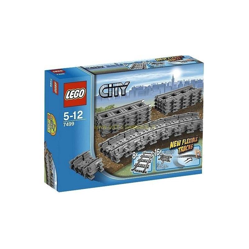 LEGO CITY - Ohebné koleje 7499