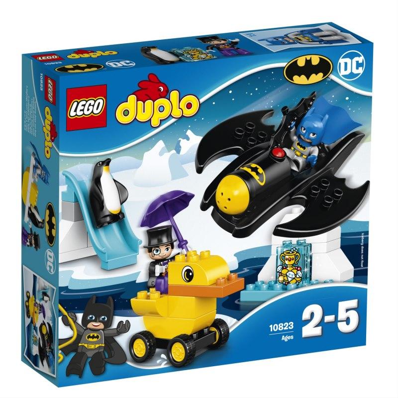 LEGO DUPLO 10823 Dobrodružství s Batwingem