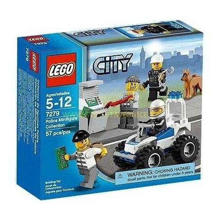 LEGO CITY - Soubor policejních minifigurek 7279