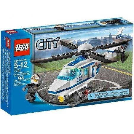 LEGO City - Policejní vrtulník 7741