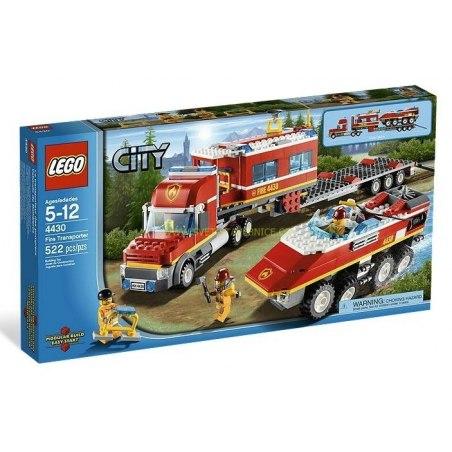 LEGO CITY - Mobilní požární stanice 4430