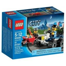 LEGO CITY - Policejní čtyřkolka 60006