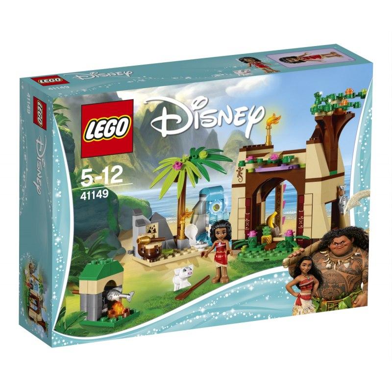 LEGO Disney 41149 Vaiana a její dobrodružství na ostrově
