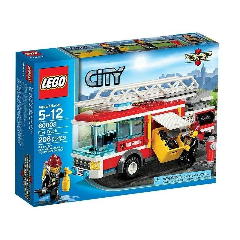 LEGO CITY - Hasičské auto 60002