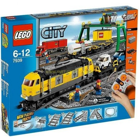 LEGO CITY - Nákladní Vlak 7939