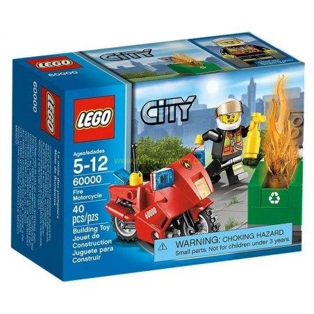 LEGO CITY - Hasičská motorka 60000