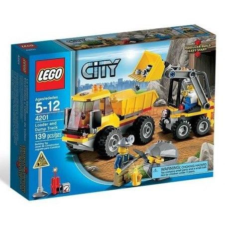 LEGO CITY - Nakladač a sklápěčka 4201