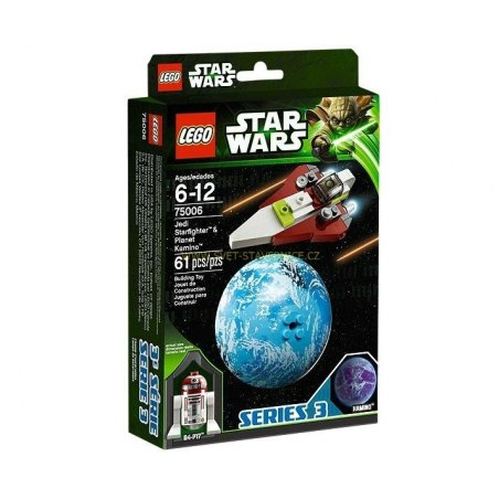 LEGO STAR WARS - Jedi Starfighter & Planet Kamino 75006
