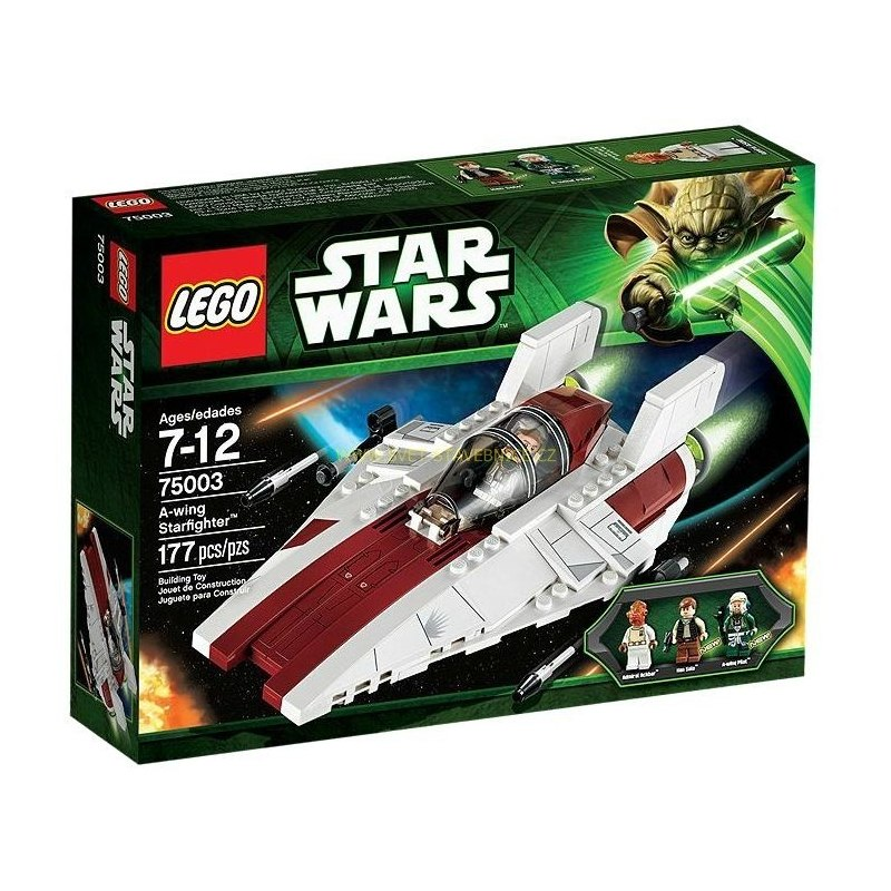 LEGO STAR WARS - Hvězdná stíhačka A-Wing 75003