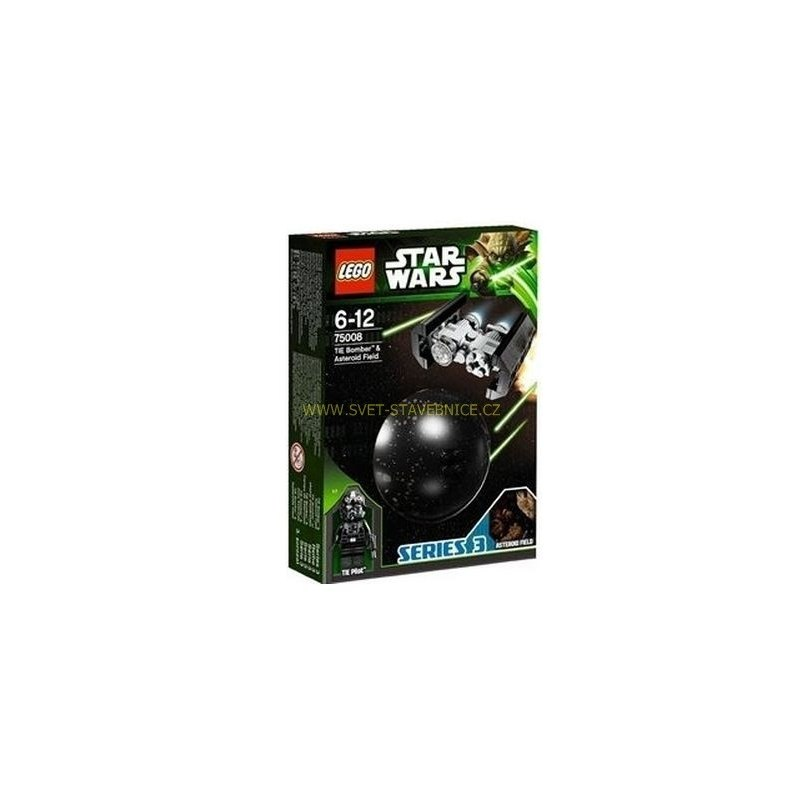 LEGO STAR WARS - TIE Bomber & Asteroid Field 75008