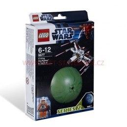 LEGO STAR WARS - Hvězdná stíhačka X-wing a Yavin 9677