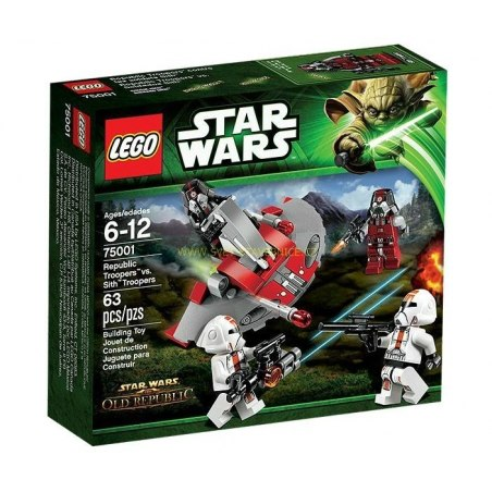 LEGO SW - Republic Troopers vs. Sith Troopers 75001