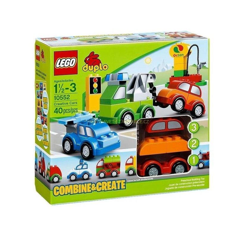 LEGO DUPLO - Tvořivá autíčka 10552