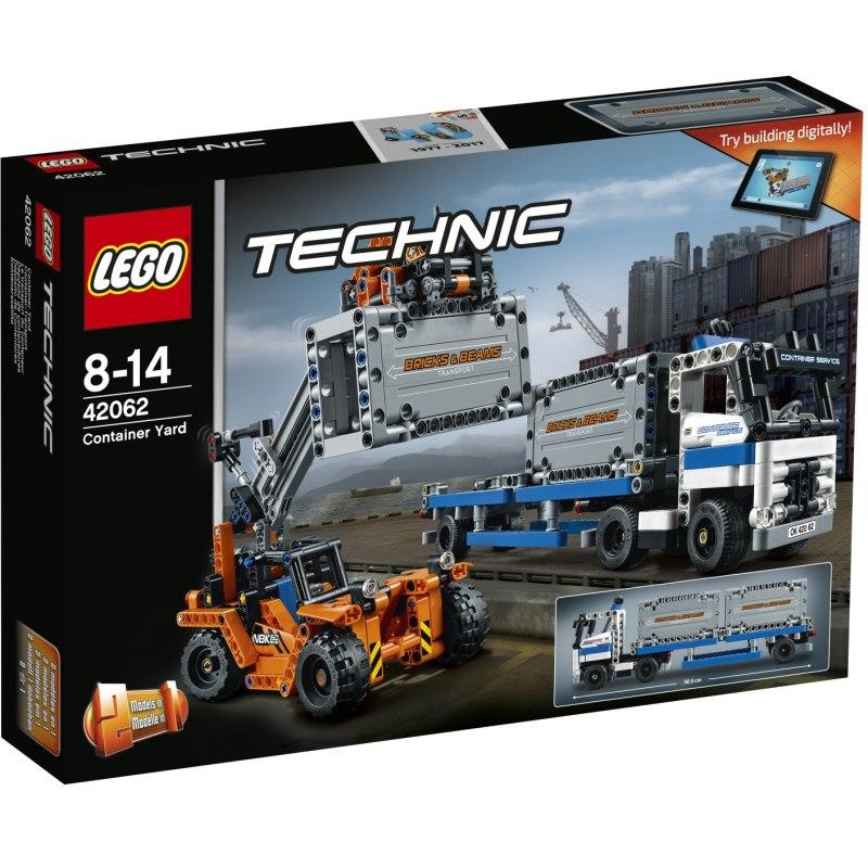 LEGO Technic 42062 Přeprava kontejnerů
