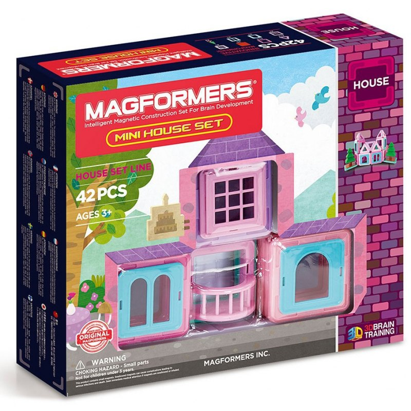 Magformers - Mini House 42 dílků