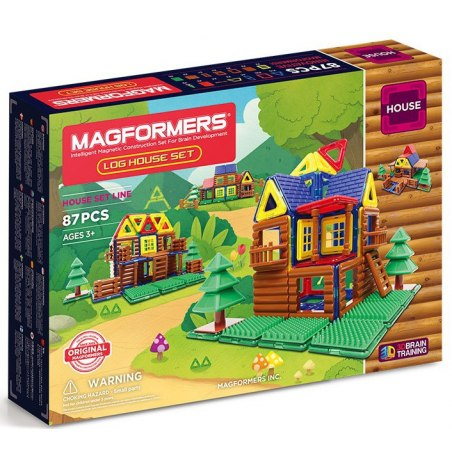 Magformers - Lesní srub 87 dílků