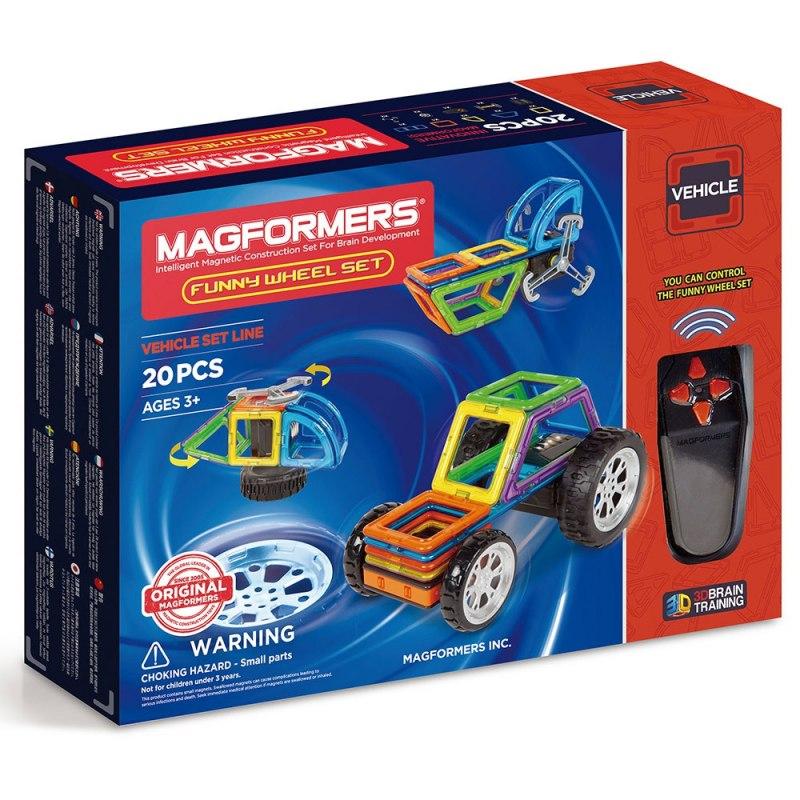 Magformers - Funny Wheels 20 dílků